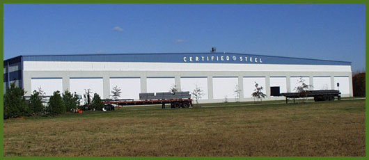 Certified Steel Warehouse